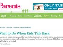 Dr. Gail Gross on Parents.com